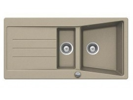 Chiuveta Teka Lumina 60B TG 1 1/2B 1D Pop-up tegranit Sandbeige